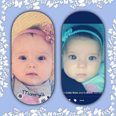 Trina (left) Hailee (Right)